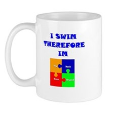 I swim therefore IM Mug