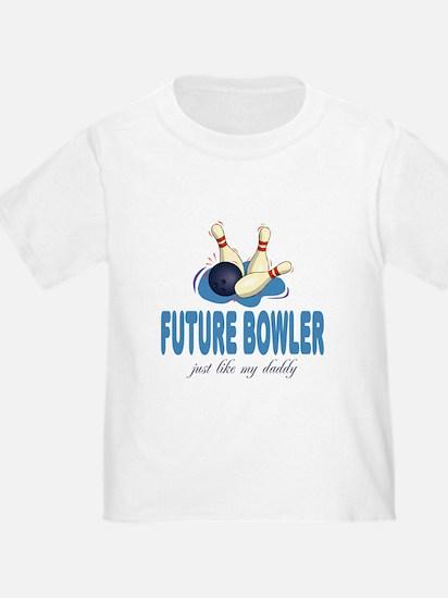 Future Bowler Like Daddy T