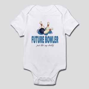 Future Bowler Like Daddy Baby Infant Bodysuit