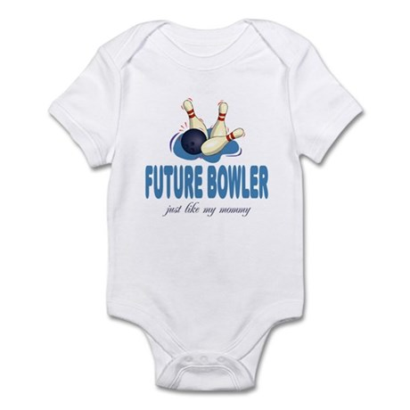 Future Bowler Like Mommy Baby Infant Bodysuit