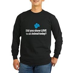 Bet A Buck Dark Long Sleeve T-Shirt