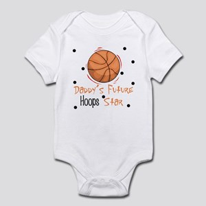 Daddy's Future Hoops Star Baby Infant Bodysuit