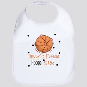 Daddy's Future Hoops Star Baby Infant Bib