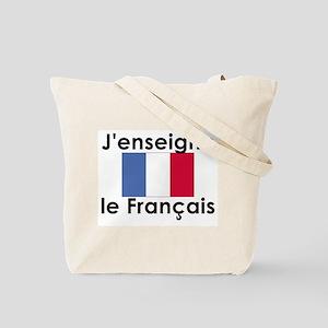 French Teacher Tote Bag