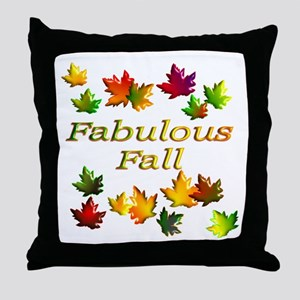 Fabulous Fall Throw Pillow