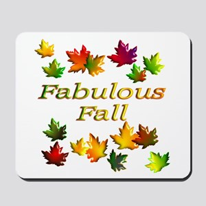 Fabulous Fall Mousepad
