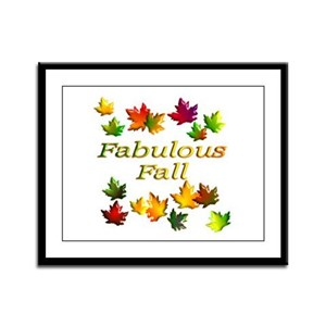 Fabulous Fall Framed Panel Print