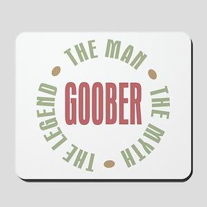 Goober Man Myth Legend Mousepad