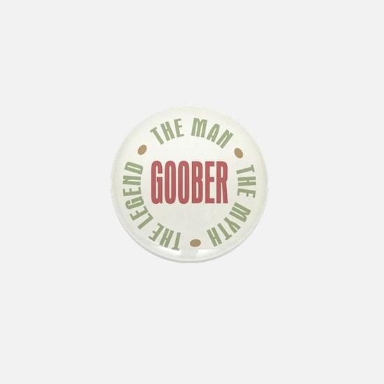 Goober Man Myth Legend Mini Button