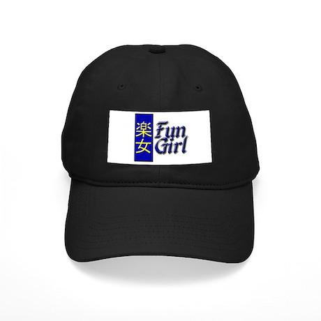 Fun Girl Black Cap