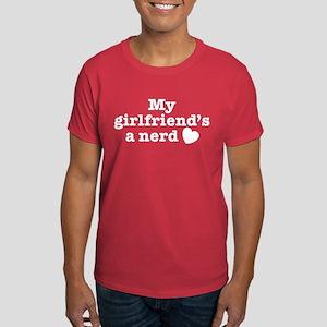 My Girlfriend's a Nerd Dark T-Shirt