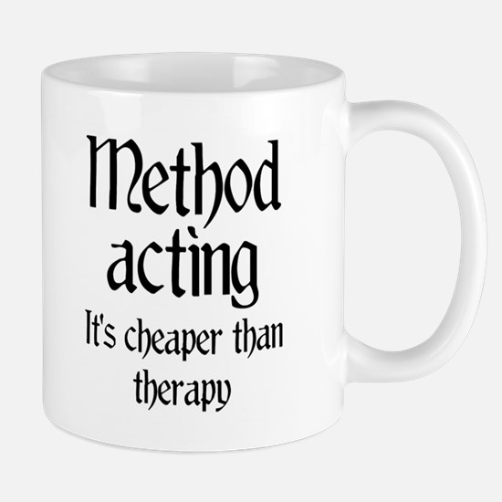 Method acting therapy Mug