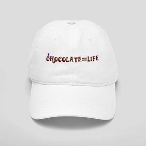 Chocolate=Life Cap