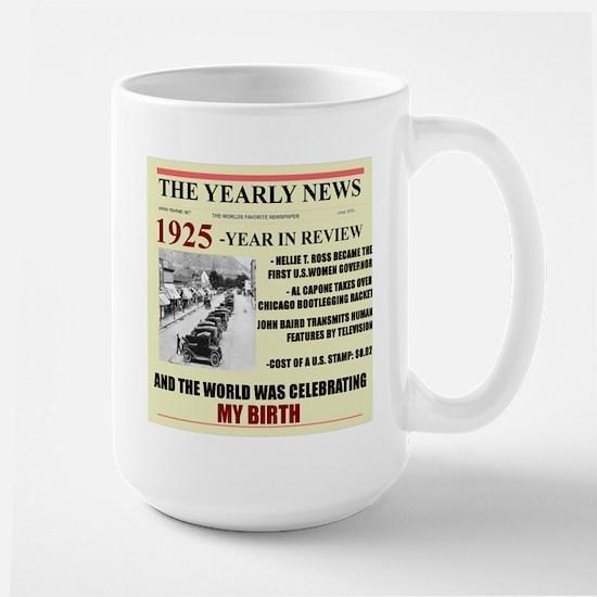 born in 1925 birthday gift Large Mug