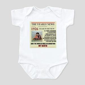 born in 1926 birthday gift Infant Bodysuit