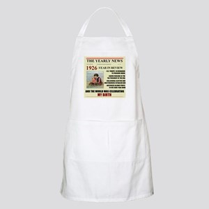 born in 1926 birthday gift BBQ Apron