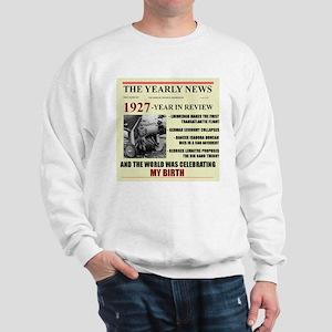 born in 1927 birthday gift Sweatshirt