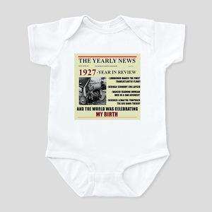 born in 1927 birthday gift Infant Bodysuit