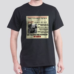 born in 1927 birthday gift Dark T-Shirt