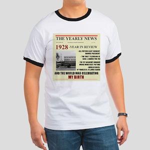 born in 1928 birthday gift Ringer T