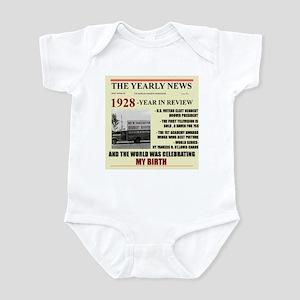 born in 1928 birthday gift Infant Bodysuit