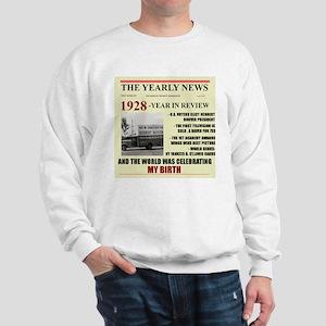 born in 1928 birthday gift Sweatshirt