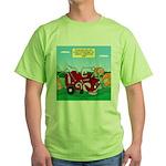 Campsite Compactor Green T-Shirt