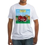 Campsite Compactor Fitted T-Shirt