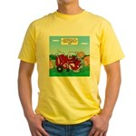 Campsite Compactor Yellow T-Shirt