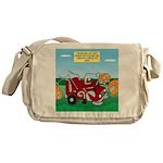 Campsite Compactor Messenger Bag