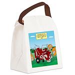 Campsite Compactor Canvas Lunch Bag