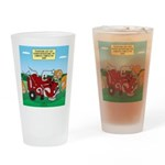 Campsite Compactor Drinking Glass
