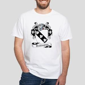 Dishington Family Crest White T-Shirt