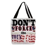 Donald Trump Card Polyester Tote Bag