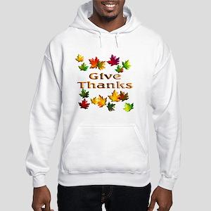 Give Thanks Hooded Sweatshirt