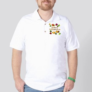 Give Thanks Golf Shirt