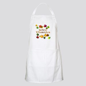 Give Thanks BBQ Apron