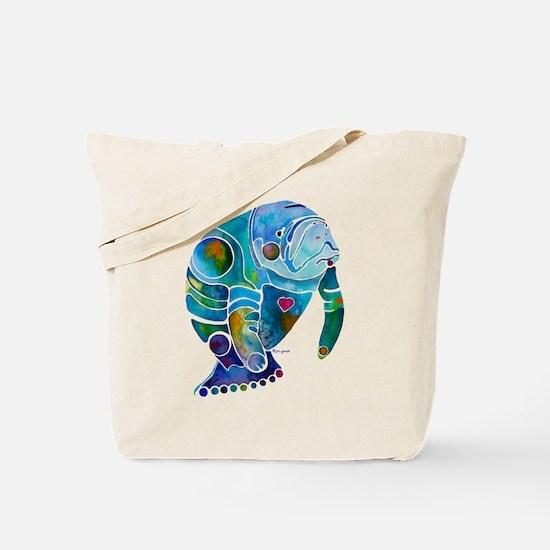 Manatees Tote Bag