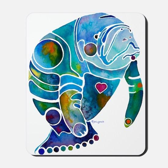 Manatees Mousepad