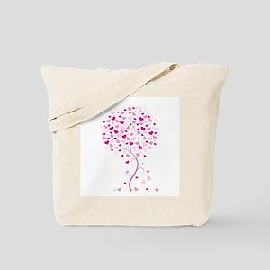 Pink Ribbon Tree - Tree of Ho Tote Bag