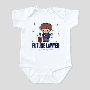 Future Lawyer like Auntie Baby Infant Bodysuit