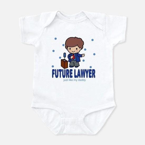 Future Lawyer like Daddy Baby Infant Bodysuit