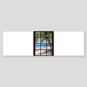 Ocean Breeze Mind At Ease Ocean Bea Bumper Sticker
