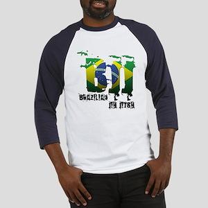 BBJ - Brazilian Jiu Jitsu Baseball Jersey
