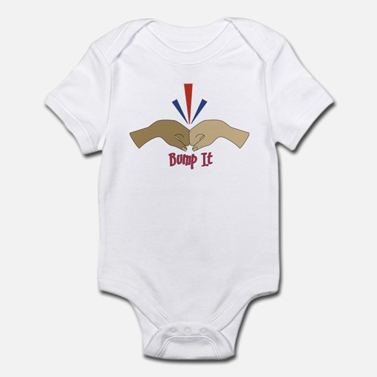Fist Bump Infant Bodysuit