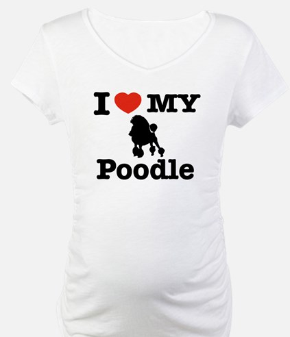 I love my Poodle Shirt