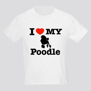 I love my Poodle Kids Light T-Shirt