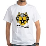 Dow Family Crest White T-Shirt