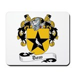 Dow Family Crest Mousepad
