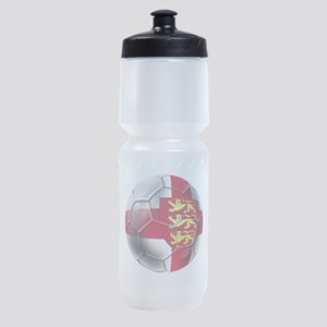 English 3 Lions Football Sports Bottle